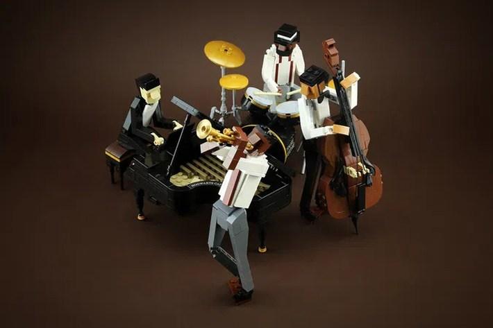 Lego Jazz Quartet Idea